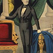James Polk, 11th American President Print by Photo Researchers