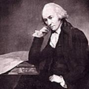 James Watt, Scottish Inventor Art Print