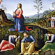 Jesus: Agony In The Garden Art Print