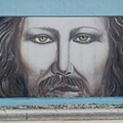 Jesus On The Street Art Print