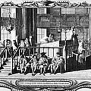 Jewish Life, 18th Century Art Print