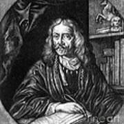 Johannes Hevelius, Polish Astronomer Art Print by Science Source
