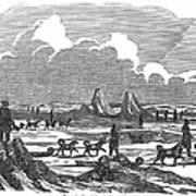 John Franklin Expedition Art Print