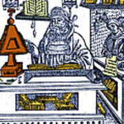 John Peckham, Anglican Theologian Print by Science Source