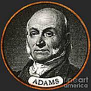 John Quincy Adams, 6th American Art Print