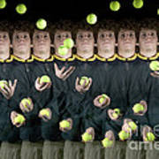 Juggler Art Print by Ted Kinsman