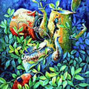 Kettle Cluster Art Print
