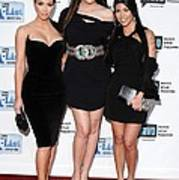 Kim Kardashian, Khloe Kardashian Art Print by Everett