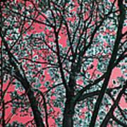 Kimono Pink Art Print