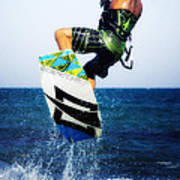 Kitesurfer Art Print