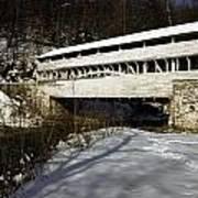 Knox Covered Bridge Art Print