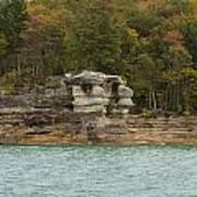 Lake Superior Pictured Rocks 49 Art Print