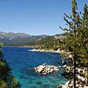 Lake Tahoe Shoreline Art Print