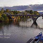 Last Light On Caveman Bridge Art Print