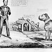 Lincoln: Cartoon, 1864 Art Print