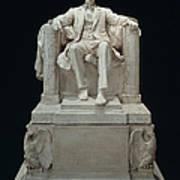 Lincoln Memorial: Statue Art Print