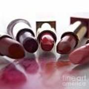 Lipsticks Art Print