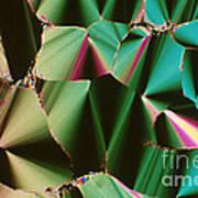 Liquid Crystalline Dna Art Print