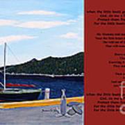 Little Boats Art Print