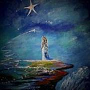 Little Wishes By The Sea Art Print