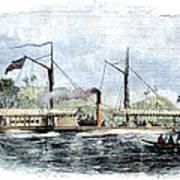 Livingstone: Steam Launch Art Print