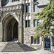 Lockhart Hall Princeton Art Print