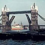 London Tower Bridge Art Print