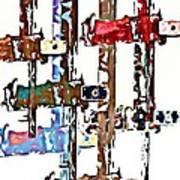Long Locks Art Print