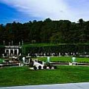 Longwood Gardens Fountain Garden Art Print
