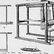 Loom: Fly Shuttle, 1733 Art Print