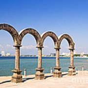 Los Arcos Amphitheater In Puerto Vallarta Art Print