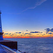 Ludington Michigan Lighthouse Art Print