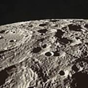 Lunar Surface Art Print