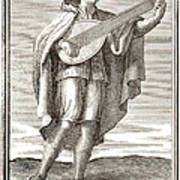 Lute, 1723 Print by Granger