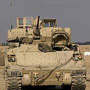 M2m3 Bradley Fighting Vehicle Art Print