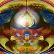 Magische Hoehle Art Print