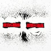 Magnetic Repulsion Art Print