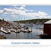 Maine Harbour Art Print by Jim McDonald Photography