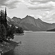 Maligne Lake Art Print