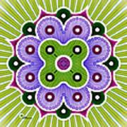 Mandala Of Abundance Art Print