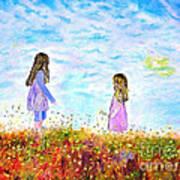 Maria - Filippia Art Print by Kostas Dendrinos