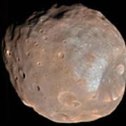 Mars Moon Phobos Art Print