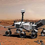 Mars Science Laboratory Art Print