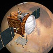 Mars Telecommunications Orbiter Art Print
