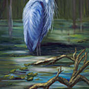 Marsh Master Art Print