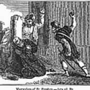 Martyrdom Of St. Stephen Art Print