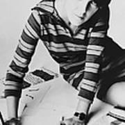 Mary Quant, British Mod Fashion Print by Everett