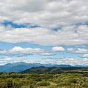 Massive Cloudy Sky Above The Wilderness Art Print