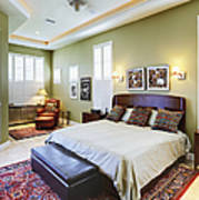 Master Bedroom Art Print