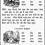 Mcguffeys Primer, C1840 Print by Granger